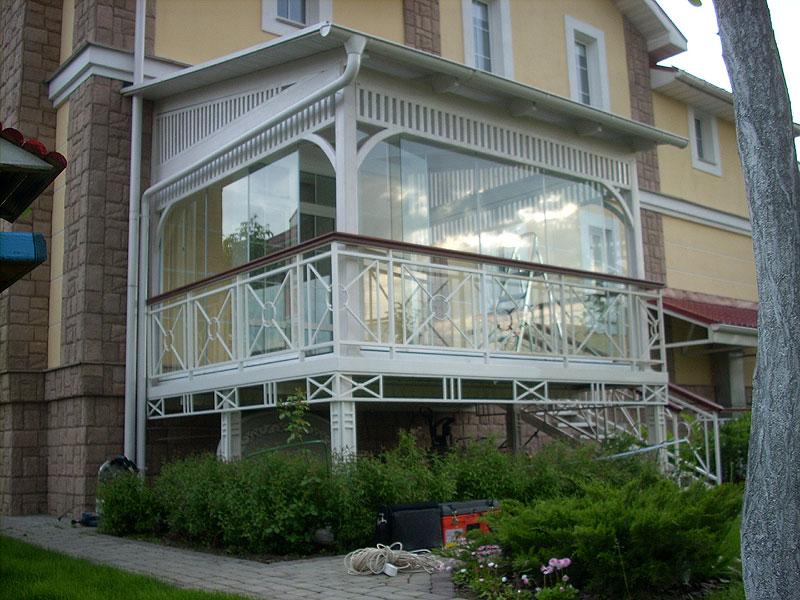 Остекление террасы для жителей спб и ленинграской области.